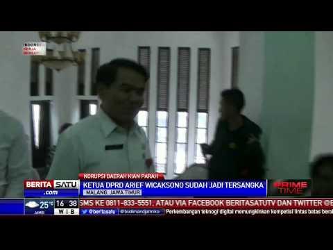 KPK Tetapkan Sejumlah Tersangka Korupsi di Malang