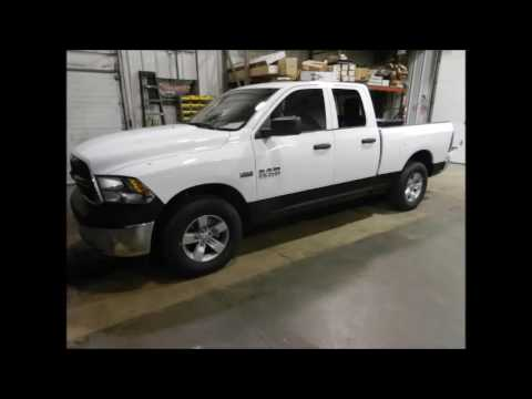 2001 Dodge Ram 1500 >> MILLENNIUM LINE-X White Ram Black Bedliner and Rockers - YouTube