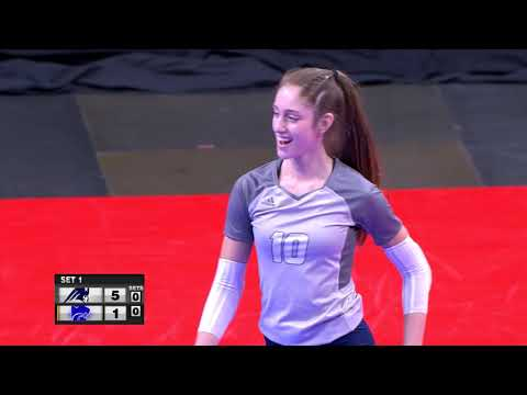 Champlin Park vs Eagan Girls High School Volleyball 2018 State Final