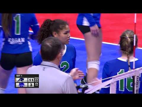 Champlin Park Vs Eagan Girls High School Volleyball 2018 State Final