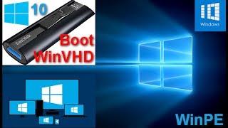 Tạo menu boot load file .WIM .VHD và add thêm bộ cài Windows. Format Partition FAT32 BOOT UEFI
