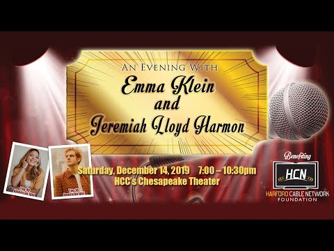 An Evening With Emma Klein And Jeremiah Lloyd Harmon