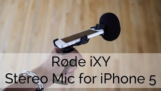 External Stereo Mic for Your iPhone 5!