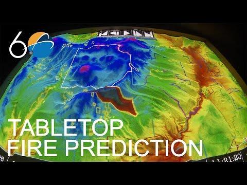 Science in 60 - Tabletop Fire Prediction