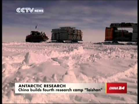 "Antarctic research: China builds fourth research camp ""Taishan"""