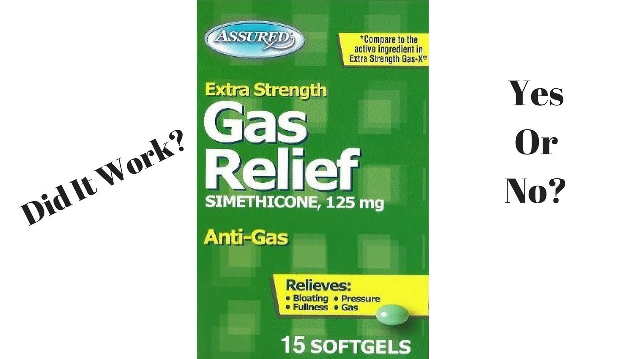 Product Testing Dollar Tree Assured Extra Strength Gas Relief Soft