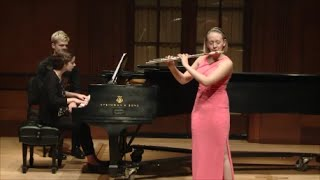 Emma Resmini: Uebayashi Flute Sonata, I. Lento