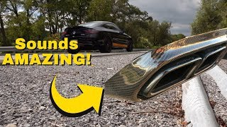 Mercedes AMG Performance Exhaust Sound! *LOUD!*
