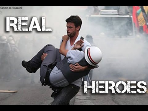 REAL HEROES - Humanity at it's Best - (10 Minutes Edition)