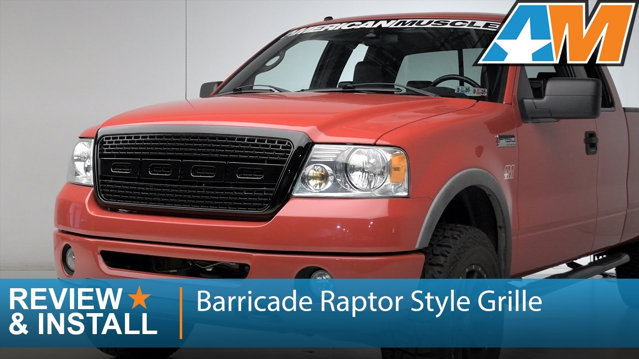 2007 ford f150 lariat grill