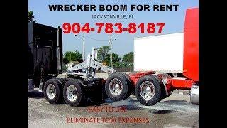 Wrecker Boom Hook Up