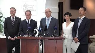TOP 09 podporuje Jiřího Drahoše do senátu
