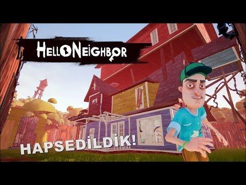 Hello Neighbor | KOMŞUM BENİ EVE KAPATTI! ACT2 [Türkçe] #99