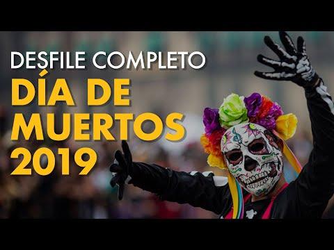 COMPLETO: Gran Desfile de Día de Muertos 2019