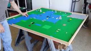 Lego Table Made Diy