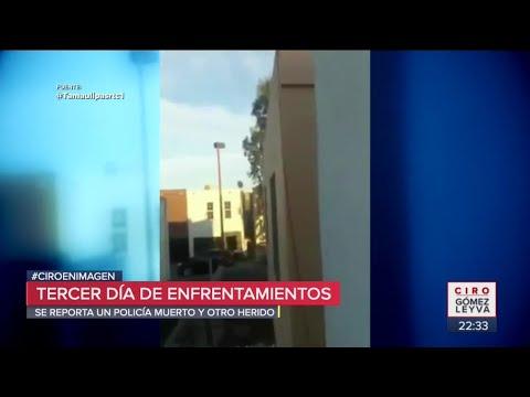 Balean hotel con policías en Nuevo Laredo | Noticias con Ciro Gómez Leyva