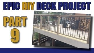 Epic Diy Deck Project- Part 9-  All The Trimmings And Project Totals