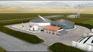 Visite virtuelle d'une installation de production de Biogaz