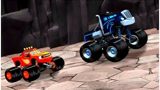 Blaze and the Monster Machines games [Nick Jr games] - Dragon Island race | Kids games Universe