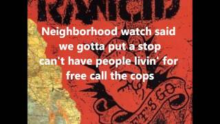 Rancid-Side Kick lyrics