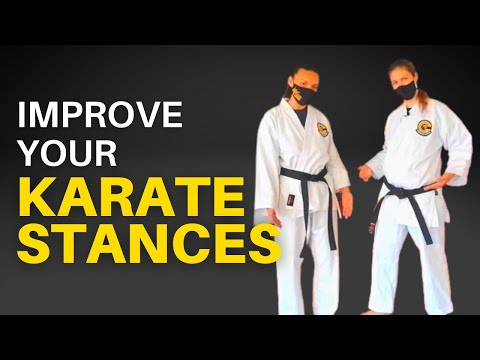 Basic Stances for Goju Ryu: How to Improve Your Stances