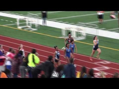 Lincoln Way East High School: 100 Meter Dash (2016 Sectional Champs)