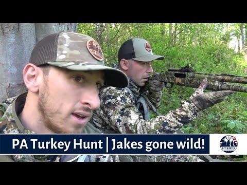 PA Turkey Hunting   Jakes Gone Wild!