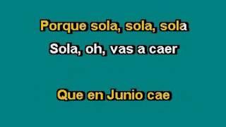 Manolo Muñoz La pera madura Karaoke
