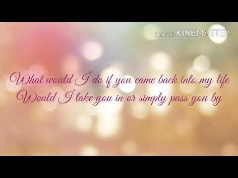 Back Into My Life by Ms Krazie~ LYRICS