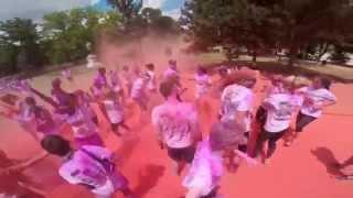 The Color Run Magyarország 2014 Official video