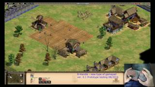 R-Handle gamepad. Test #8 Age of Empires 2