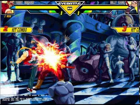 "Legendary Terry Vs Infinite Billy Kane: ""Moon light Rumble"" A.I. BATTLE"