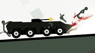 - БЕШЕНЫЙ СТИКМЕН 3 как мультфильм про машинки в смешной игре для детей на Android от FGTV