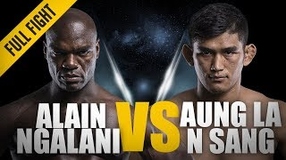 Video ONE: Full Fight | Aung La N Sang vs Alain Ngalani | Historic Open Weight Super-Bout | November 2017 download MP3, 3GP, MP4, WEBM, AVI, FLV Agustus 2018