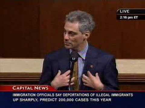 Rep. Emanuel On Investing In Clean, Renewable Energy