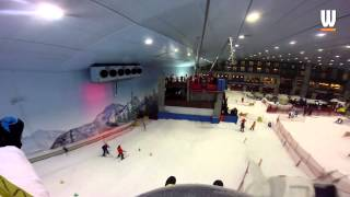 Snow Bullet Zip Line at Ski Dubai