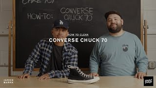 SNEAKER CARE 101: HOW-TO CLEAN CONVERSE CHUCK 70