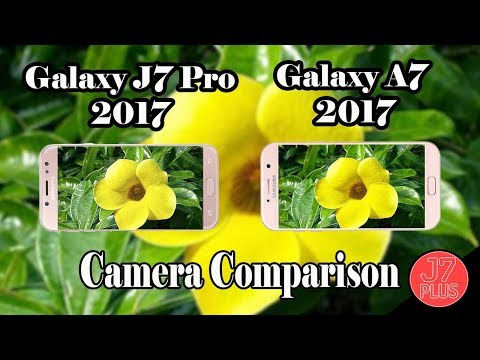 Samsung Galaxy J7 Pro (2017) Vs Samsung Galaxy A7 (2017) (Camera Test)