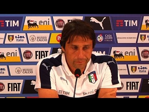 Emotional Conte bids farewell to Italian national team