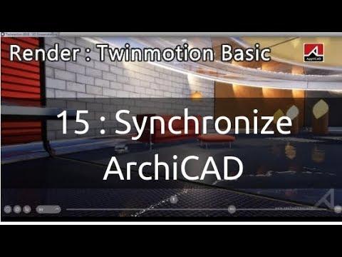 15 สอน Render เบื้องต้นด้วย Twinmotion : Synchronization