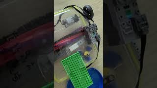 로봇청소기(레고+락앤락 뚜껑+쓰레받기+다이슨 청소솔)