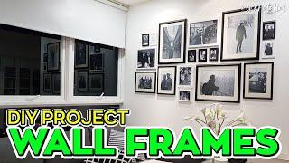 [ omaralattas ] vlog #105-2018: DIY Room Decor - Wall Frames