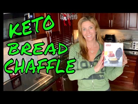 dash-mini-unboxing-|-best-keto-bread-waffle-|-bun-chaffle