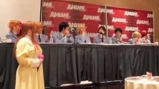 Anime Fest 2014 - Ouran Host Club Q&A Panel
