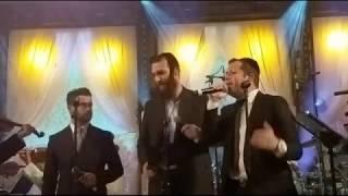 Itzik Dadya, Simcha Leiner, Beri Weber, sing at Epic Wedding