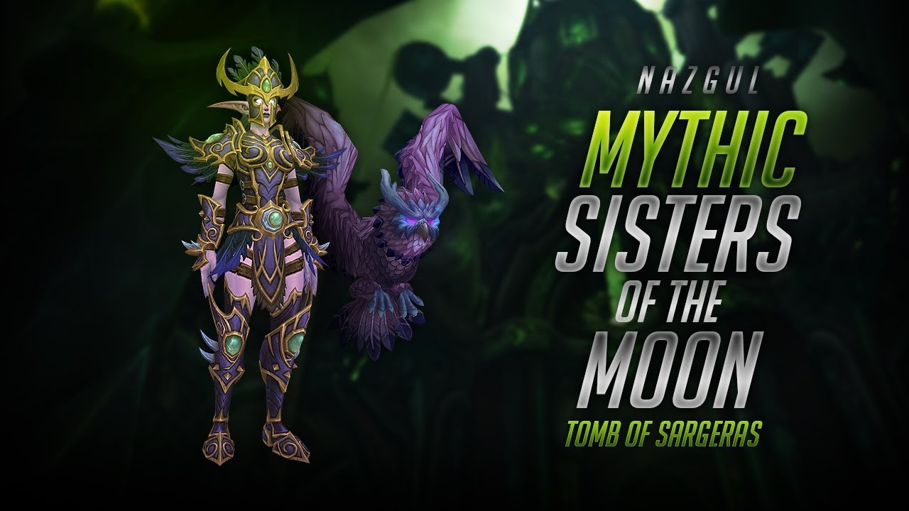 Nazgul Vs Mythic Sisters Of The Moon Youtube