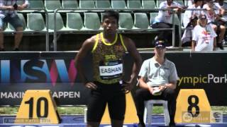 Mens 100m   F NAL   94th Australian Athletics Championships