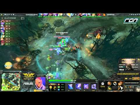 Armaggeddon Grand Slam Asia 2013 - First Departure VS Gangster casted by GoDz