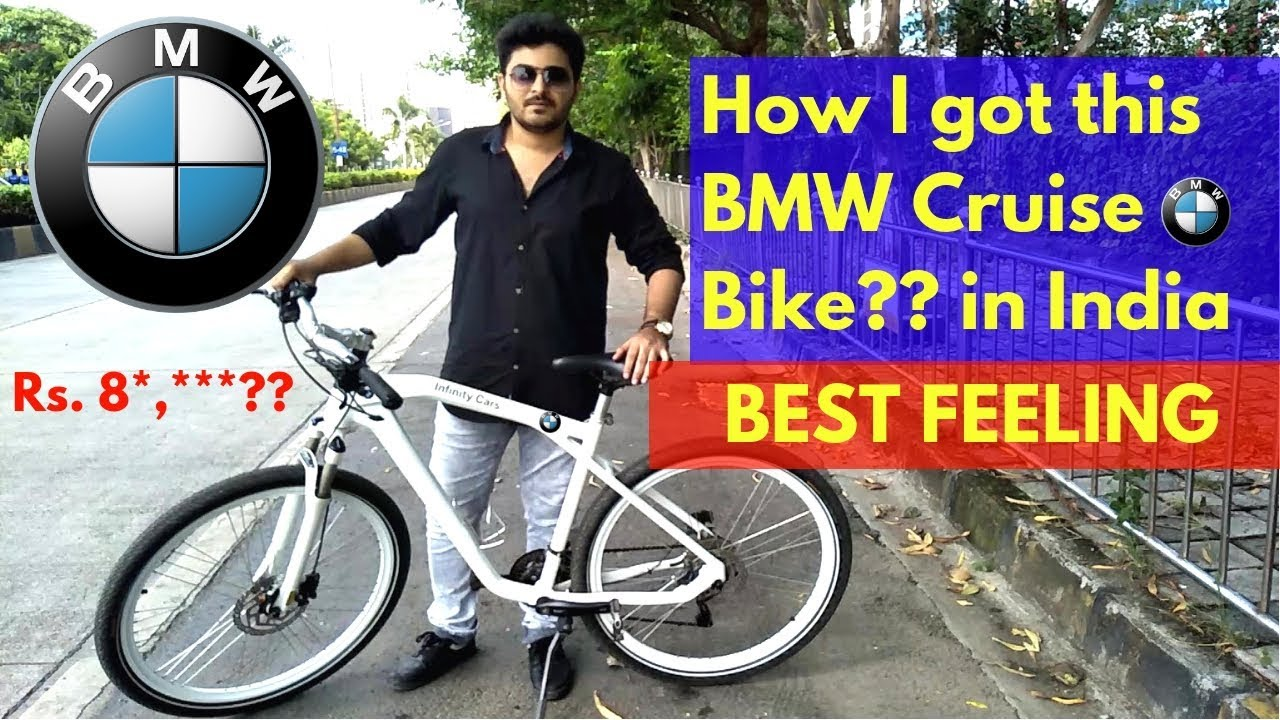 Bmw Bicycle >> Bmw Cruise Cycle Imported In India Best Bike Ever
