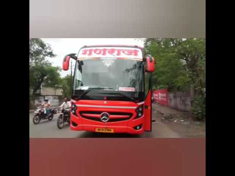 Orange Queen for orange city Nagpur | Mercedes-Benz bus | Travel with Star by Ganraj travels